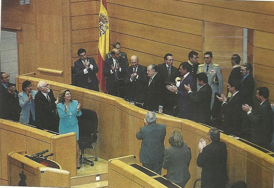 1996. Septiembre, 25. Rafael Caldera ante el pleno de las Cortes Generales de España