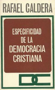 Especificidad de la Democracia Cristiana (1972)