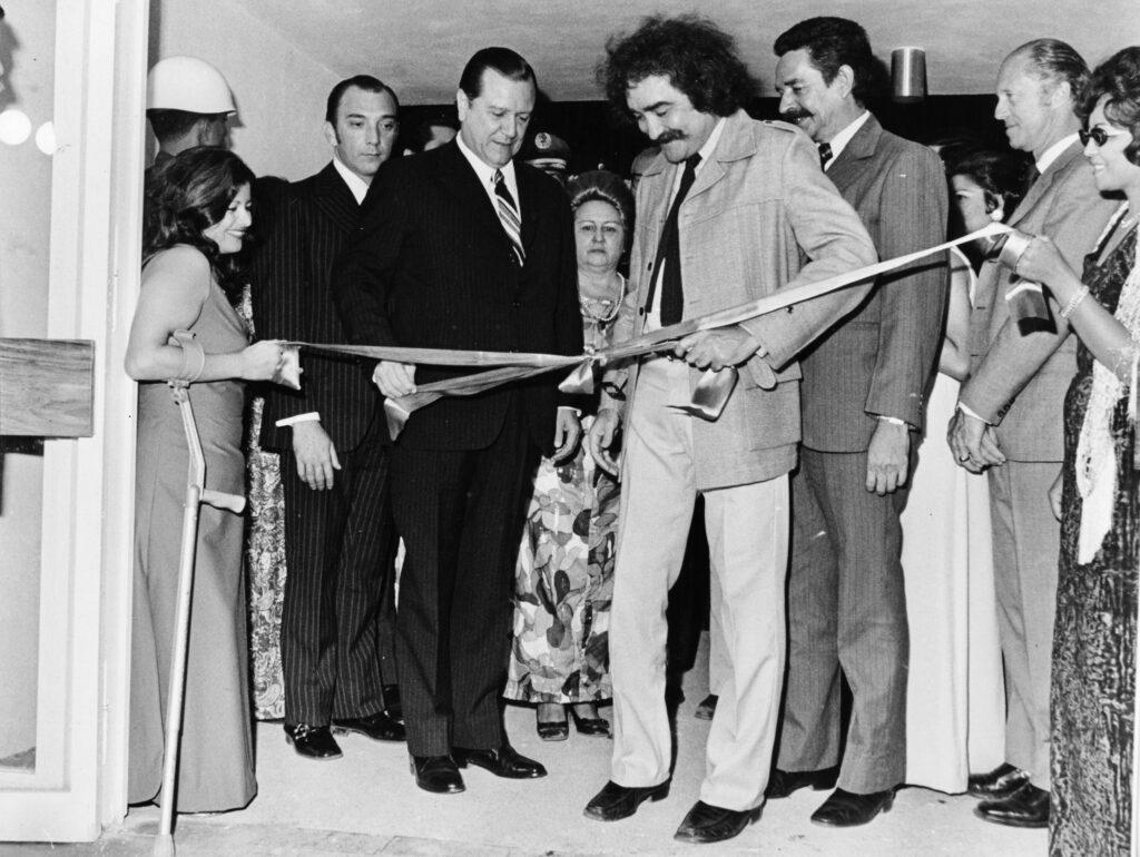 1973. Agosto 25. Inauguración Museo de Arte Moderno Jesús Soto de Ciudad Bolívar.