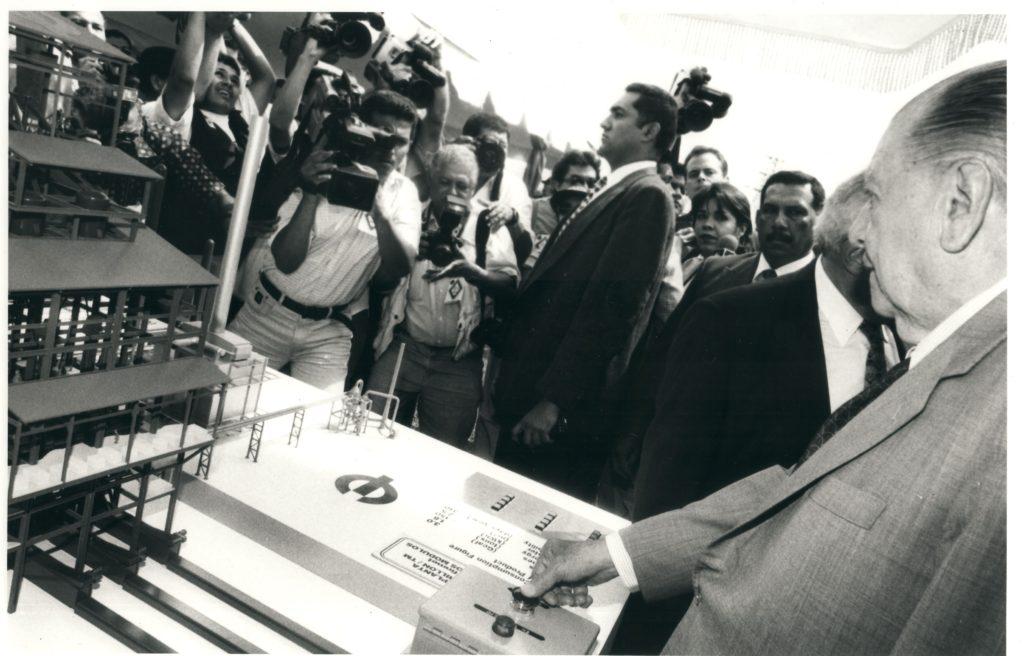 1997. Enero, 23. Inauguración de la represa Macagua II.