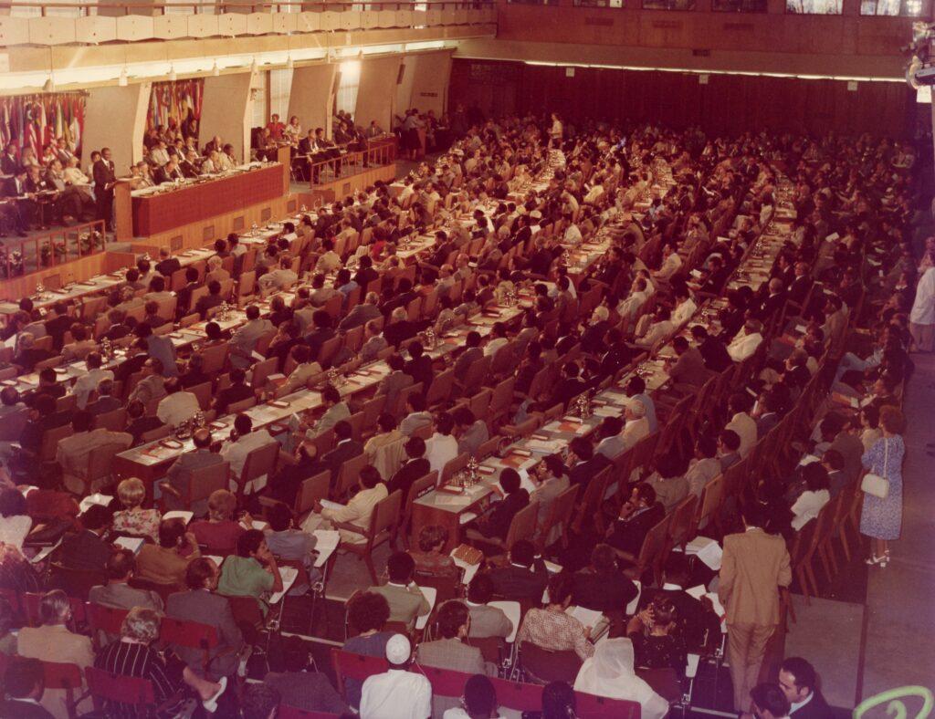 1979. Julio 12. En Roma, Conferencia Mundial de Reforma Agraria