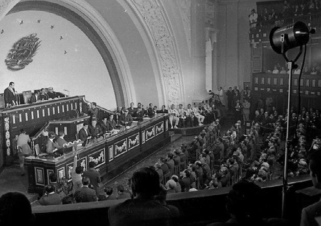 Primer mensaje del Presidente Rafael Caldera ante el Congreso Nacional (1970. Primer Gobierno)