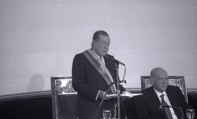 Mensaje al Congreso Rafael Caldera 1995.