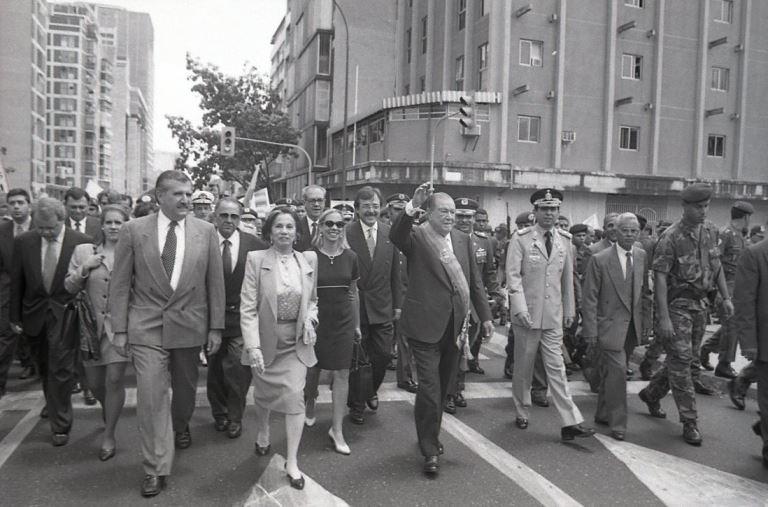 Primer mensaje del Presidente Rafael Caldera ante el Congreso Nacional (1995. Segundo gobierno)