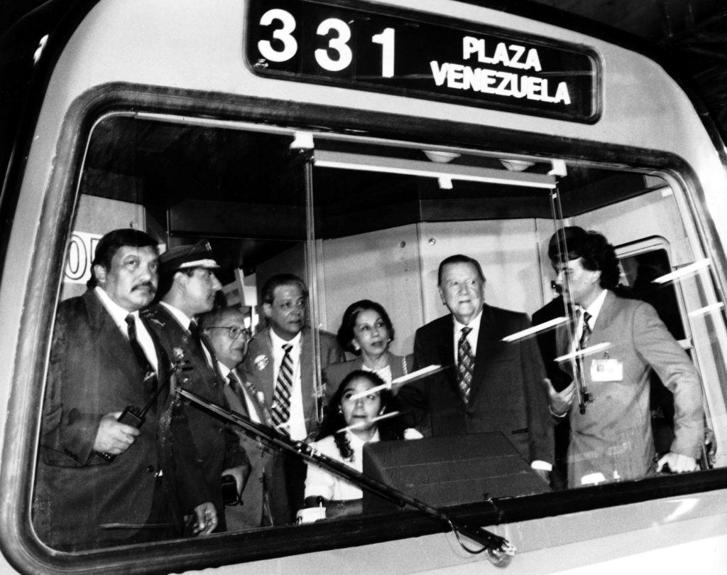 Metro de Caracas. Rafael Caldera 1994.