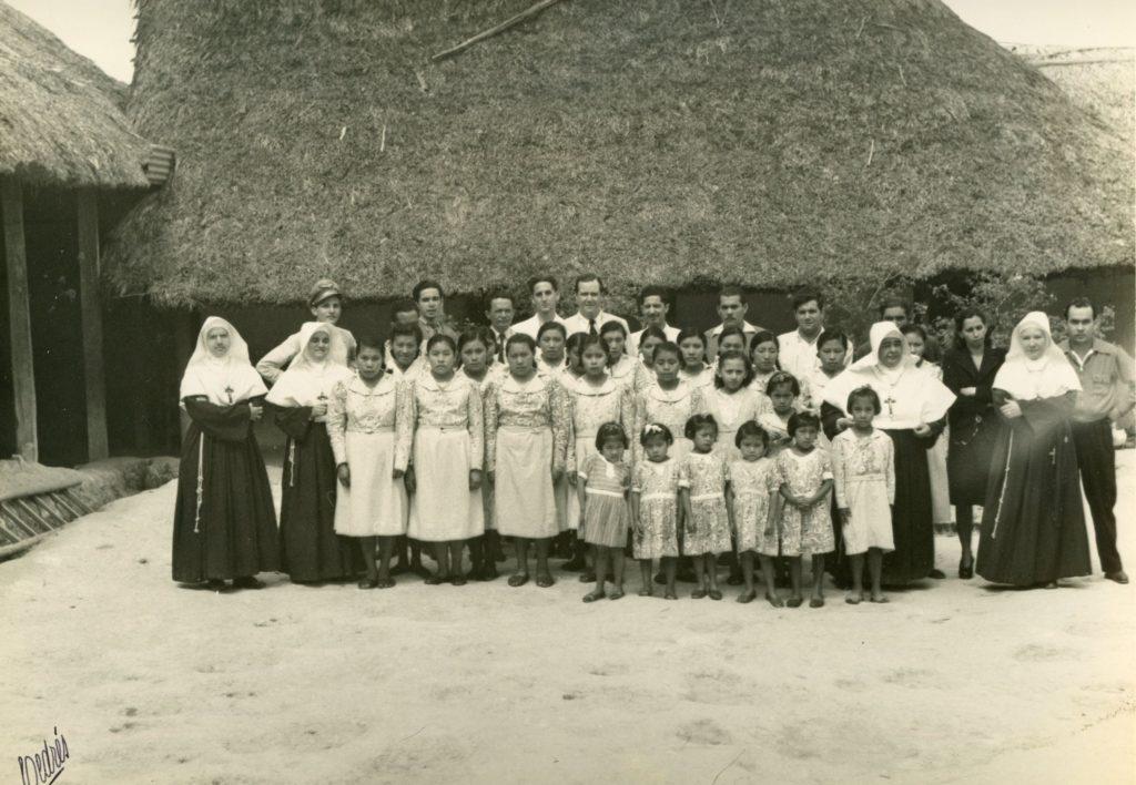 Rafael Caldera en la Gran Sabana en 1947