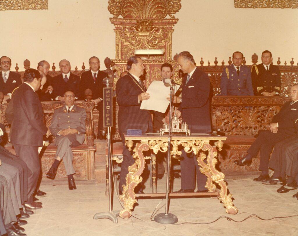 1975. Enero, 30. Actualidad del pensamiento de Bolívar como guía y expresión del nacionalismo latinoamericano