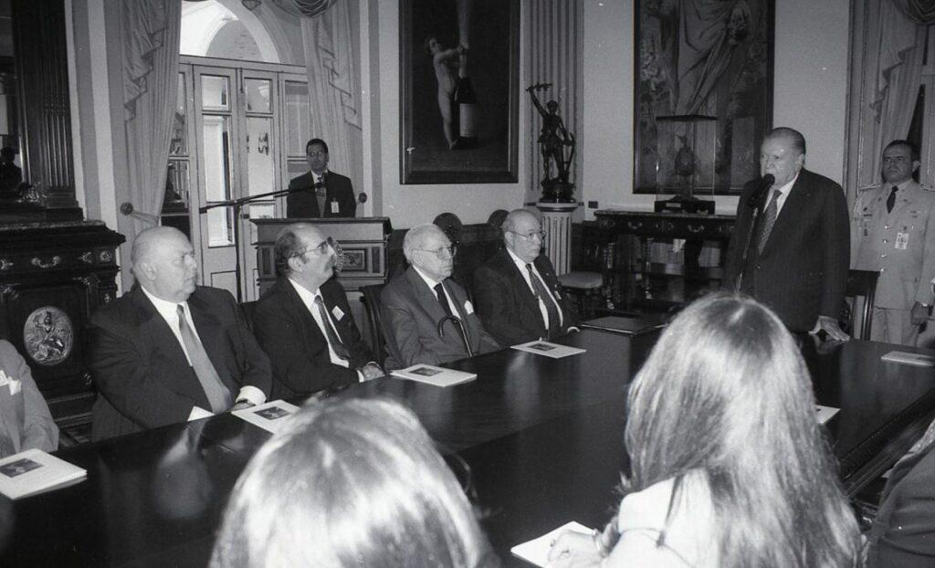 1997. Julio, 4. Comisión Presidencial por el centenario del natalicio del general Isaías Medina Angarita.