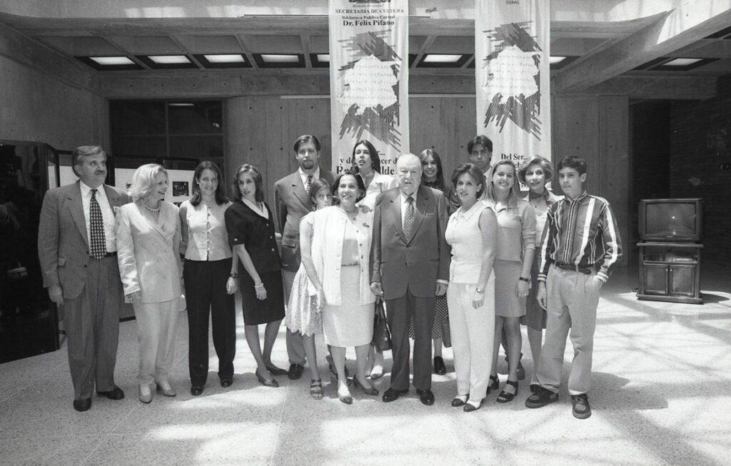 1997. Marzo, 15. Homenaje a Rafael Caldera en la Biblioteca Pública Central Dr. Félix Pifano, San Felipe, estado Yaracuy
