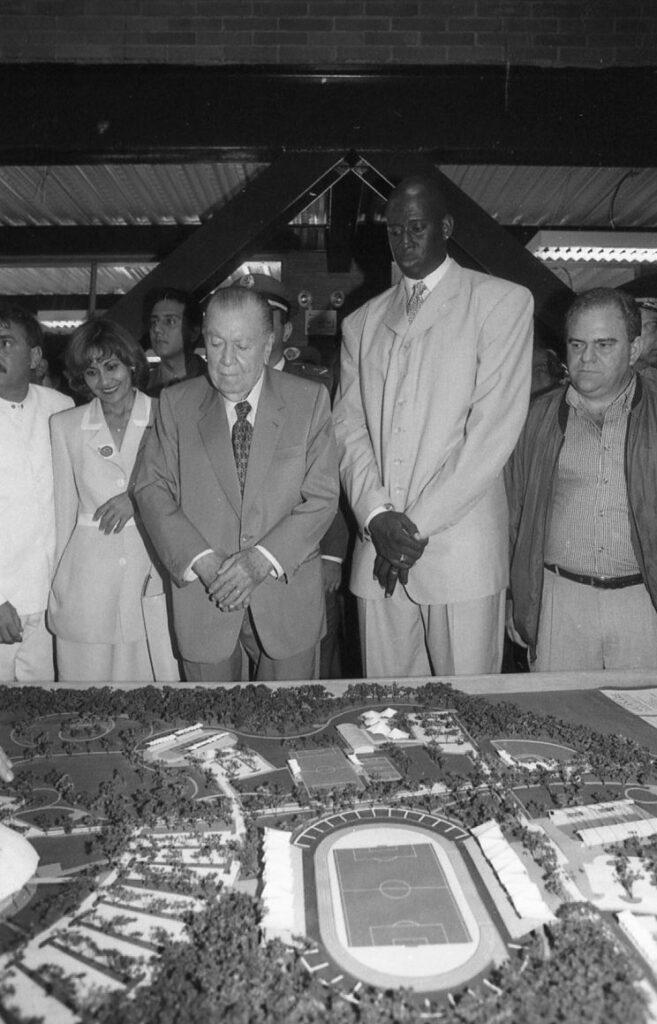 1998. Agosto, 29. Inauguración del Coliseo Carl Herrera Allen en Guanare, estado Portuguesa.