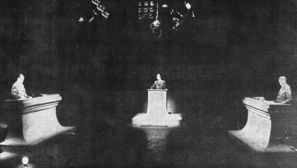 1963. Octubre, 22. El debate Caldera-Uslar Pietri