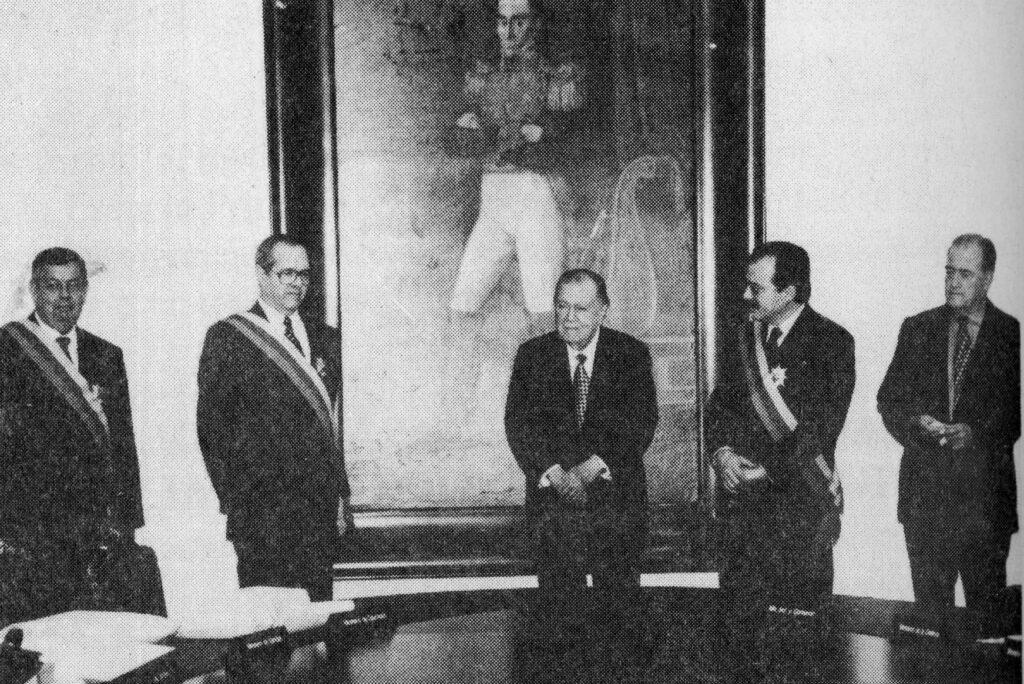 Condecoración a funcionarios públicos en Miraflores